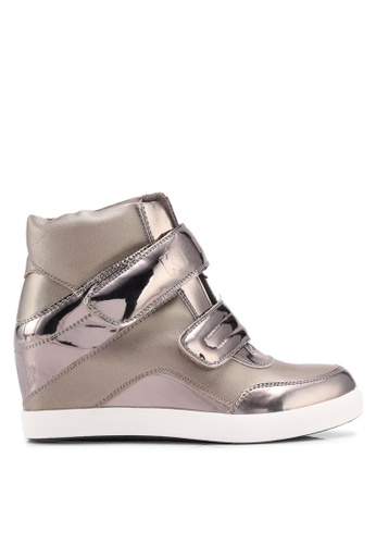 Keddo brown Double Strap Active High Sneakers 2EF7ASHAEA522BGS_1