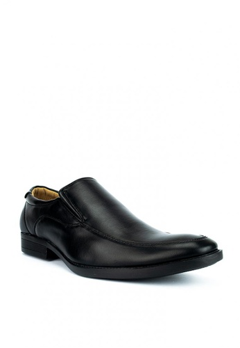 Cardam's Lifestyle black Brent Formal Shoes 8ECD8SH9FE3439GS_1