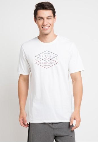 hurley white Cre Tuberide T-Shirt 5105CAAA2E0AE1GS_1