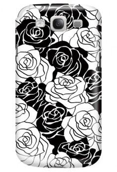 Roses Glossy Hard Case for Samsung Galaxy S3