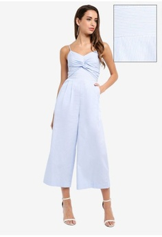 70c6dd0977f Psst... we have already received your request. Forever New. Harriet Twist  Front Stripe Jumpsuit