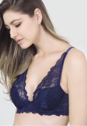 Raquel Lingerie blue Nadya Blue Fashion Bra RA363US30MVTID_1