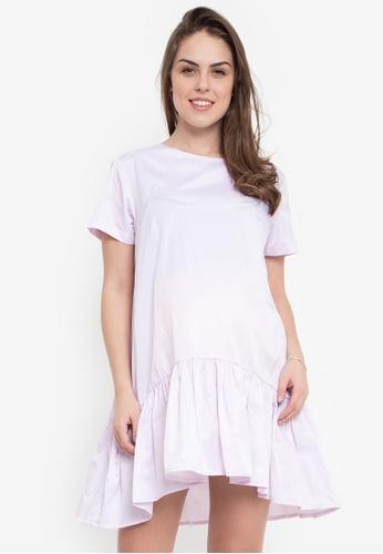 Hint pink Maternity Short Sleeve Dress HI373AA0JSC9PH_1
