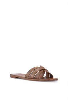 6f5008c33c2 MANGO Leather Straps Sandals Php 2