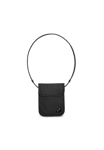 Pacsafe black Pacsafe Coversafe X75 RFID Blocking Neck Pouch (Black) EC528ACDEBE86FGS_1