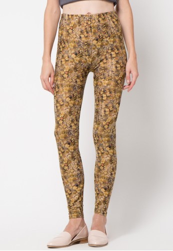 GRAPHIS green Legging Floral Print GR530AA30FCNID_1