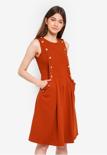 Megane brown Essential Janessa Dress A9194AA11BAD1AGS_1