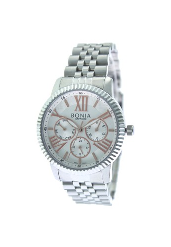 BONIA silver Bonia B10441-2313 - Jam Tangan Analog Wanita - Silver 70ECDAC19FABF8GS_1