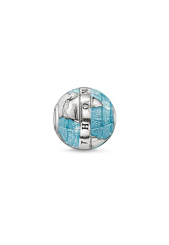 "THOMAS SABO silver Bead ""Wonderful World"" 957CCACCE4D508GS_1"