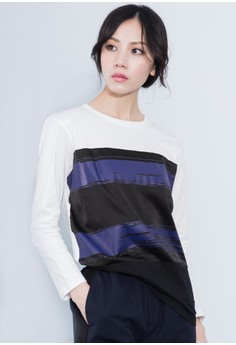 Faded Stripes Everyday Top