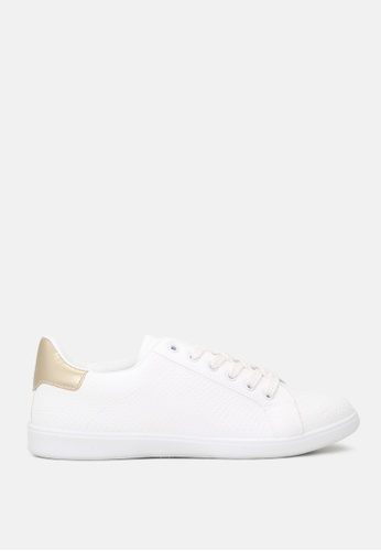London Rag 白色 系带运动女鞋 3218FSH76A6618GS_1