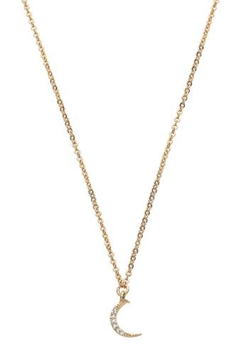 Dear Addison gold Eclipse Necklace 56BDCAC682813CGS_1