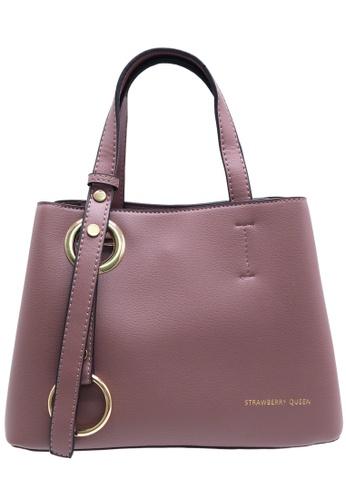 STRAWBERRY QUEEN pink Strawberry Queen Classic Cum Elegant Crossbody Bag - Fantasy (Pink) D7149AC67D5135GS_1