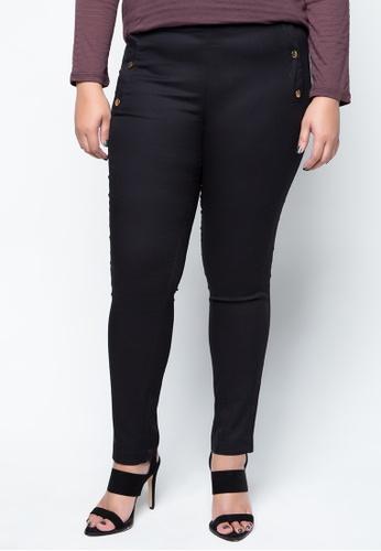 Maldita X black Plus size Debbie Pants MA587AA57APUPH_1