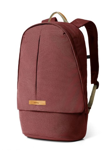 Bellroy red Bellroy Classic Backpack Plus - Red Earth 8C49FAC3168389GS_1
