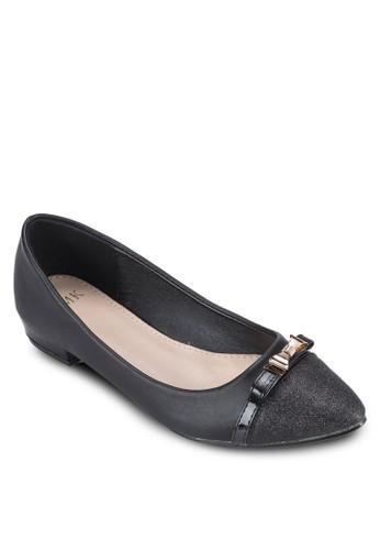 蝴蝶結尖頭平底鞋esprit 香港, 女鞋, 鞋
