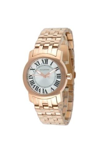 EGLANTINE gold EGLANTINE® Emily Ladies Rose Gold Plated Steel Quartz Watch on Rose Gold Plated Bracelet 390D7AC7A9F4FBGS_1