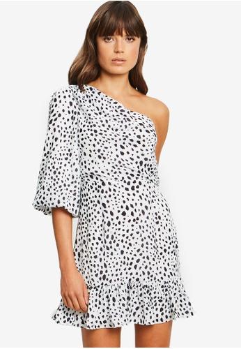 Tussah white Ciara Mini Dress 782D3AA2E54889GS_1