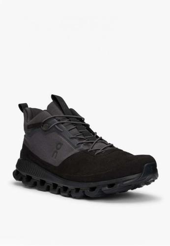 On black Cloud Hi Men's Shoes Eclipse 907F7SHEB859C8GS_1