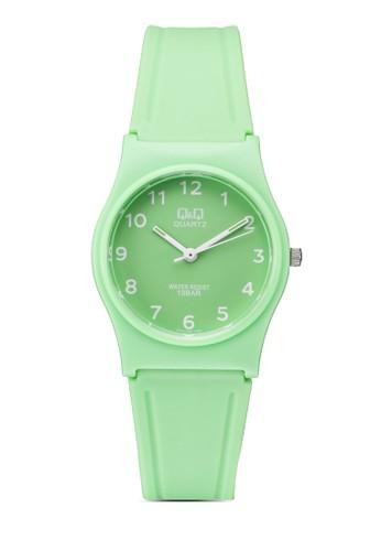 VP34J065esprit女裝Y 矽膠圓錶, 錶類, 其它錶帶
