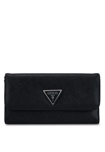 GUESS black Noelle Multi Clutch Wallet 5C8FCAC015B202GS_1