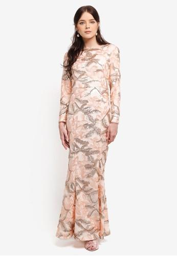 harga Embellished Mermaid Dress Zalora.co.id