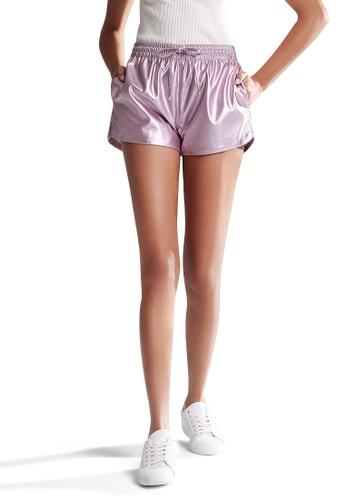 London Rag pink Metallic Shorts EB325AA05B8CB3GS_1