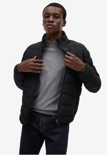 Mango Man black Ultra-Light Quilted Jacket EEC15AA59F1193GS_1