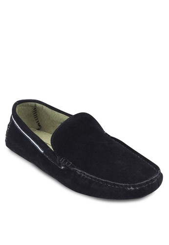 Faux Suede Moccasins With Grosgrain Taping, esprit hk store鞋, 鞋