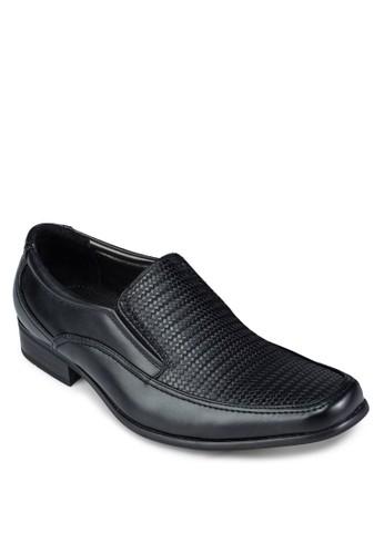 暗紋方esprit 香港頭正裝皮鞋, 鞋, 鞋