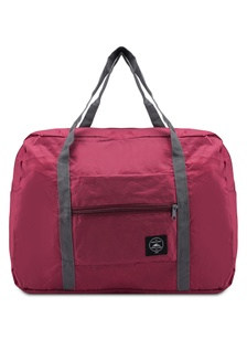 f425fff5666 Foldable Travel Bag With Luggage Carrier Holder Bag