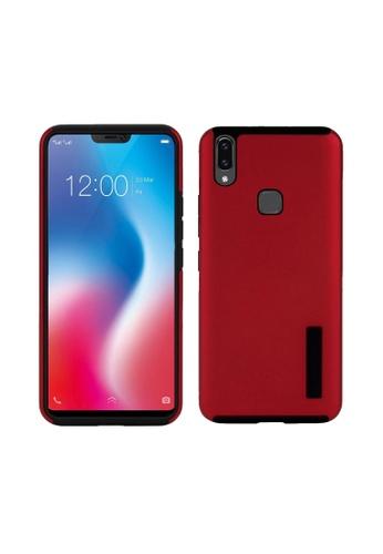 MobileHub red Dual Pro Shockproof Case for Vivo Y85 C7938AC3E0FB16GS_1