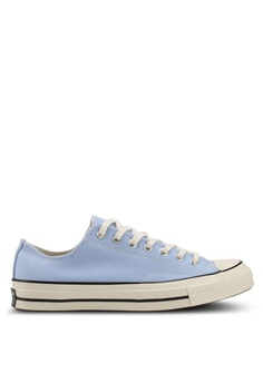 3aef3702455e Converse blue Chuck Taylor All Star 70 Ox Vintage Canvas Sneakers  121AASH4E737B6GS 1