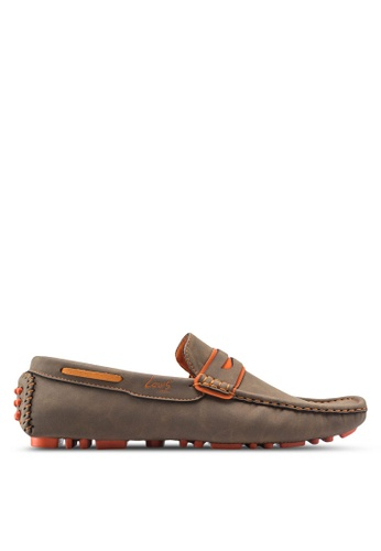Louis Cuppers brown Casual Moccasins LO977SH76ZJVMY_1