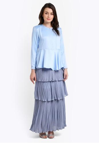 JubahSouq blue Ratasha Kurung JU399AA0RH7LMY_1