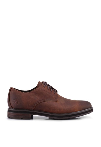 Timberland brown Windbucks Waterproof Oxford Shoes DBDDBSH4F8C266GS_1