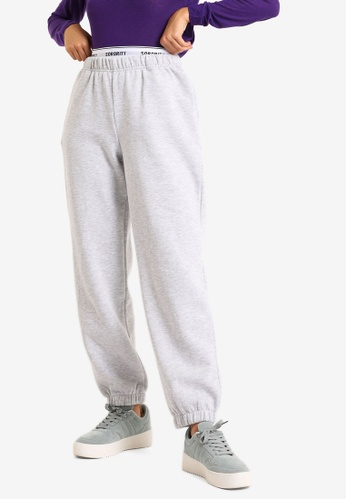 PIMKIE grey Fleece Joggers 23DF7AA29035F4GS_1
