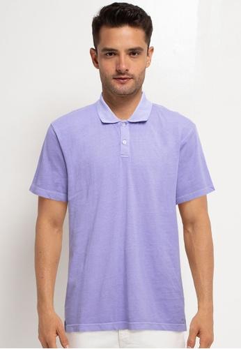 GAP purple Short Sleeves Jersey Polo Shirt 5833EAA8918FD9GS_1
