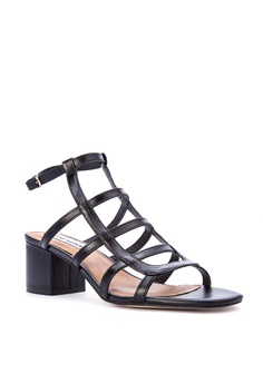 Steve Madden Ilari Leather Upper Heeled Sandals Php 4,950.00. Sizes 6.5 7  7.5 8 8.5