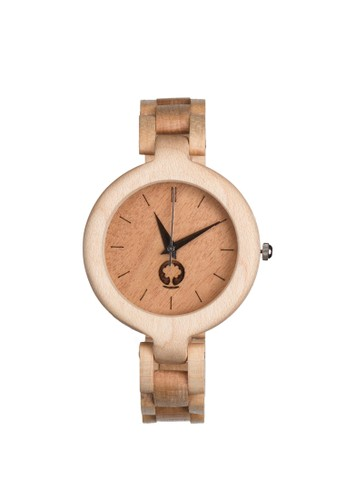 華麗系列楓木錶, 錶類,esprit outlet 桃園 時尚型