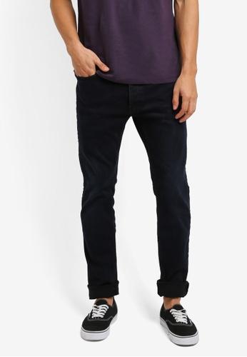 Topman 黑色 Stretch Skinny Jeans 00894AA826B939GS_1