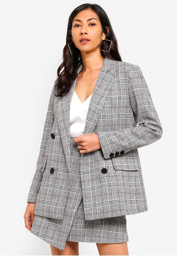 ESPRIT grey Woven Regular Blazer F3F2AAA5F03ABEGS_1
