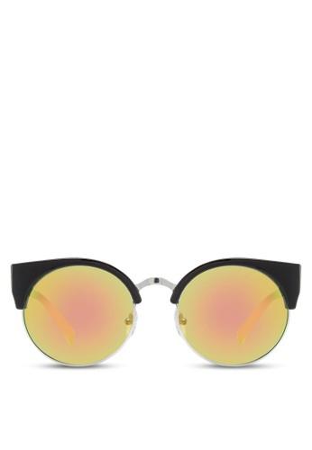 JP0zalora鞋子評價105 復古風貓眼太陽眼鏡, 飾品配件, 飾品配件