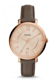 Fossil JACQUELINE簡約女錶 ES3707