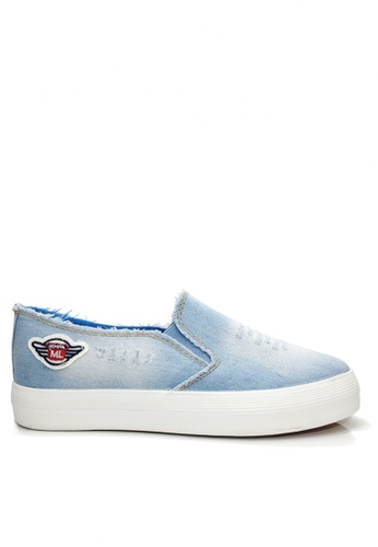 Twenty Eight Shoes blue Badge Slip-ons VC9175 267C3SHF943646GS_1