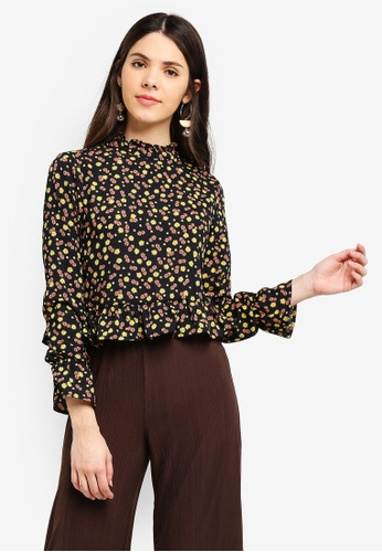 24b09317106e3 Buy Cotton On Bree Frill Blouse Online on ZALORA Singapore