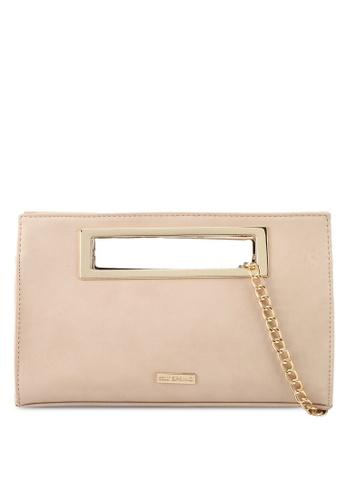 Call It Spring beige Magnum Clutch Crossbody Bag 5CD8BAC612527AGS_1