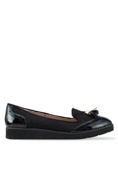 679965af0997 Dorothy Perkins black Black Lorretta Loafers 053D4SH6491C8DGS 1