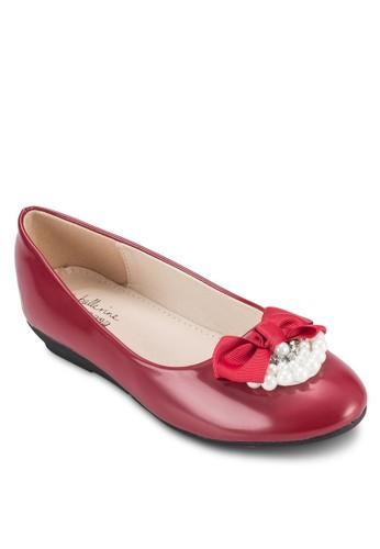 Pearlesprit 價位y 舒適平底鞋, 鞋