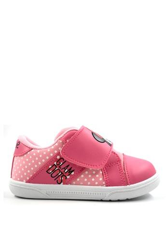 Mickey pink Minnie Slip On MK03-040 3F875KS49FE520GS_1